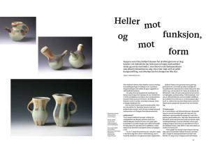Artikkel i magasinet Kunsthåndverk nr 4 - 2011