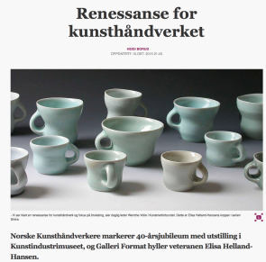 Renessanse for kunsthåndverket