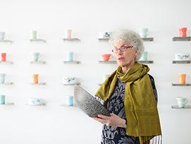 Kunstneren Elisa Helland-Hansen