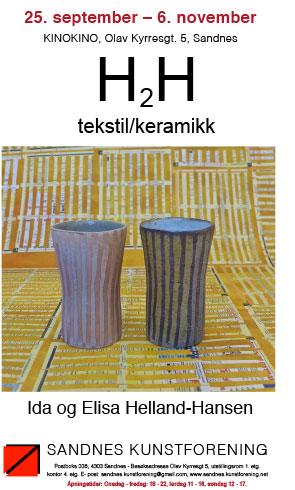 H2H - tekstil og keramikk