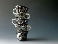 Dekorerte kaffekopper